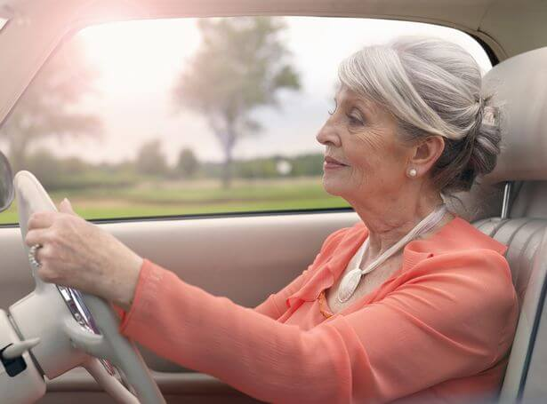 Senior-Woman-Driving